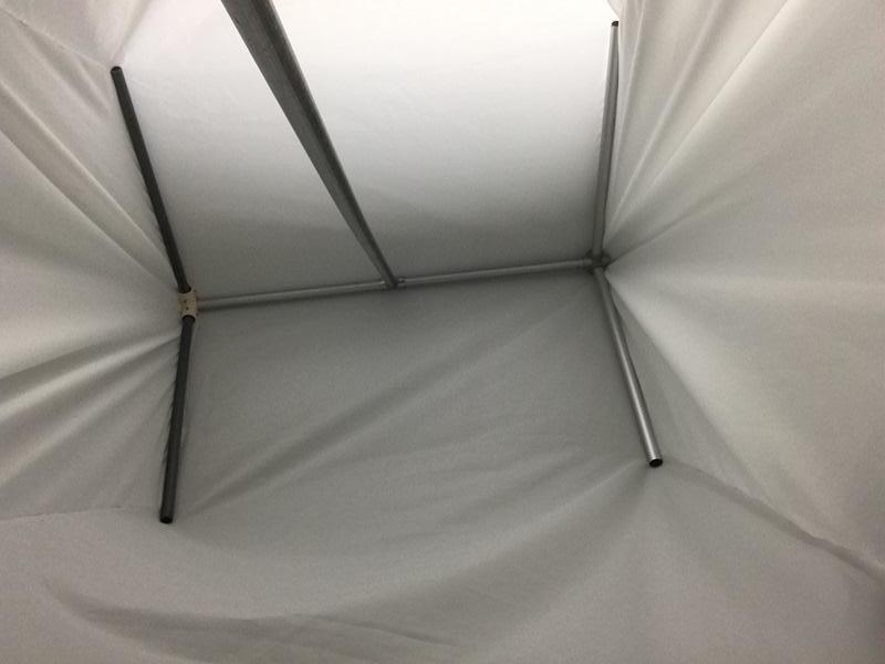 屋台の布の質の確認