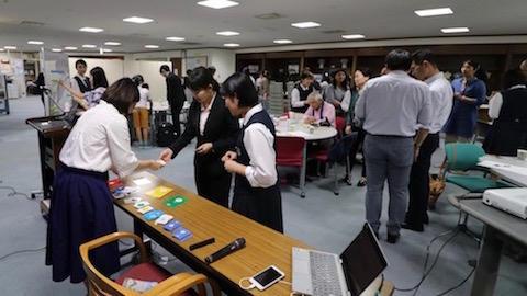 アクロス福岡3F こくさいひろば にて (2018.10.01)
