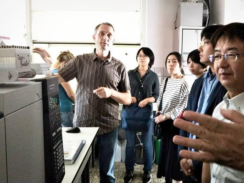 分析機器・研究設備の見学