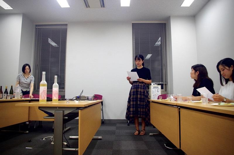 名古屋文化短期大学製菓クリエイトコースの学生からの発表