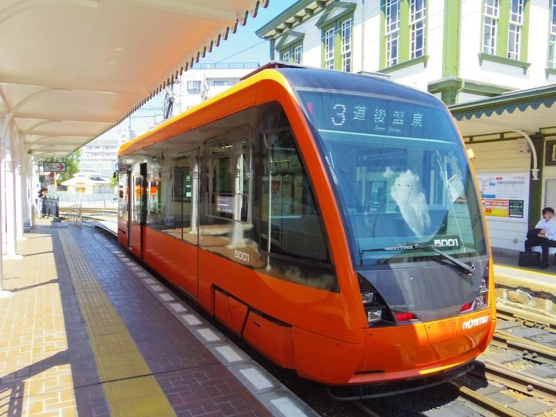 伊予鉄道超低床車(1)