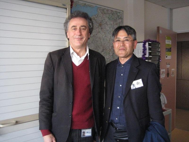 IFP Schoolのピエール・デュレ博士と中島公平教授