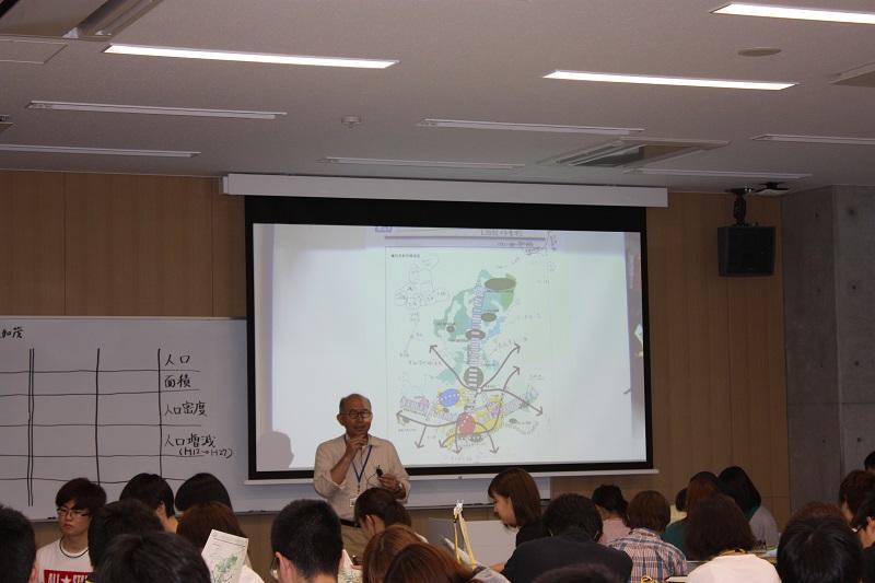 海道先生、都市計画図は専門分野ですね。