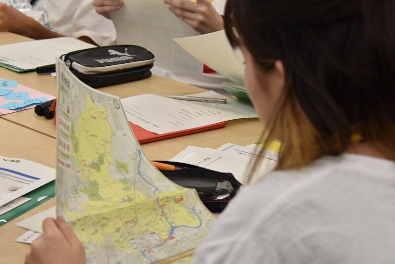 美濃加茂MAPを見ながらフィールドワークの行程をイメージしてみます
