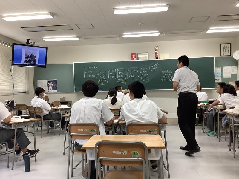 「育てる力」を踏まえた松下教諭のAL型授業(2019年6月25日)