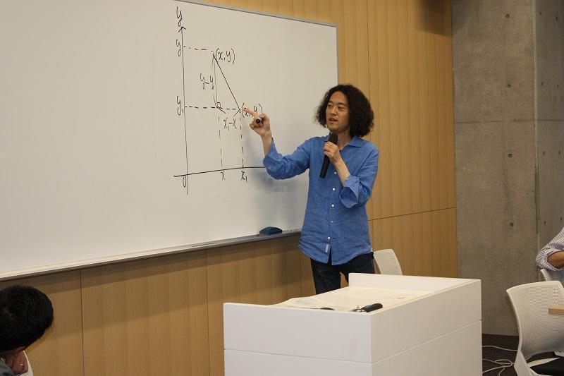 鈴木先生:専門はオペレーションズ・リサーチ