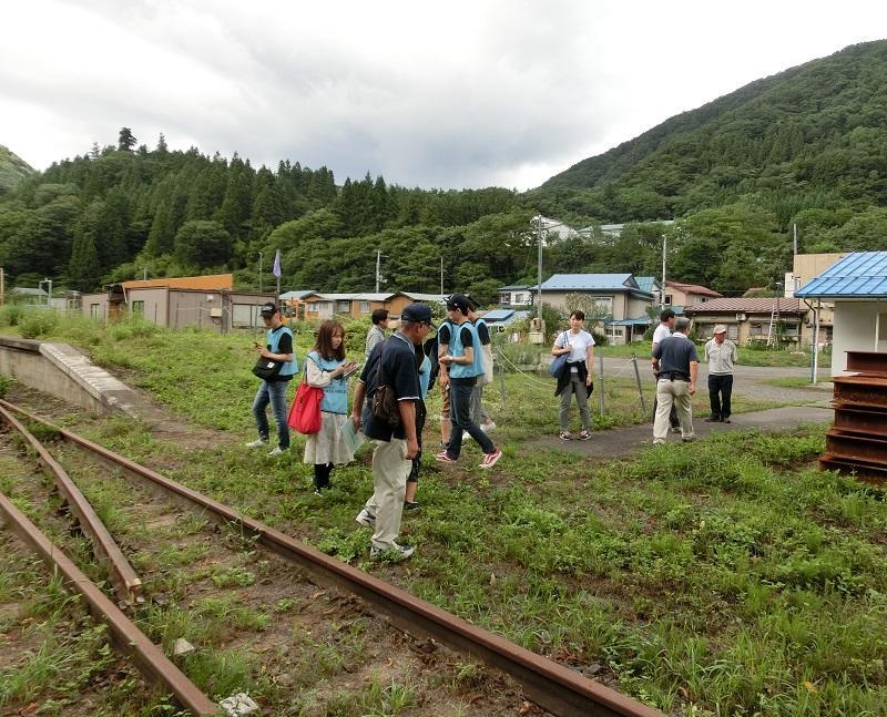 浅内駅跡視察(令和元年8月25日)