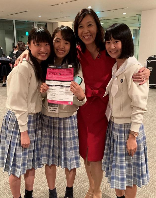 UN Women日本事務所所長の石川さんと