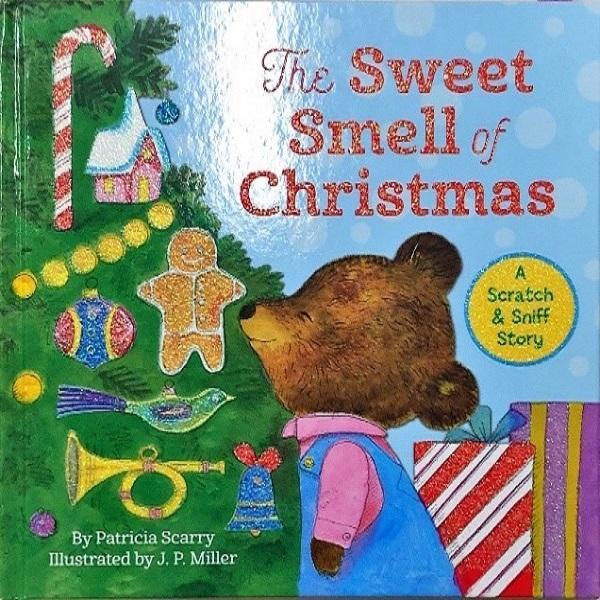 午前の部の絵本(The Sweet Smell of Christmas)