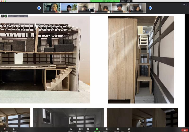 蔵の階段の改修イメージを提案
