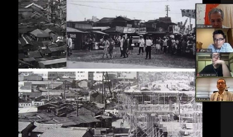 昔の名古屋駅周辺の様子