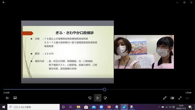 お揃いのピンクエプロンの斎藤さん、大矢さん。ありがとうございました。