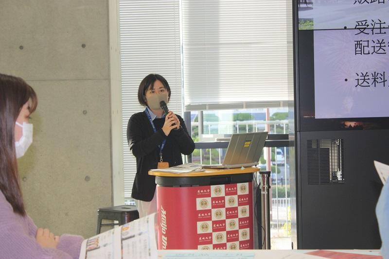 美濃加茂市産業振興課の田中さん。なぜ産業振興課がふるさと納税を担当しているか理解できました。