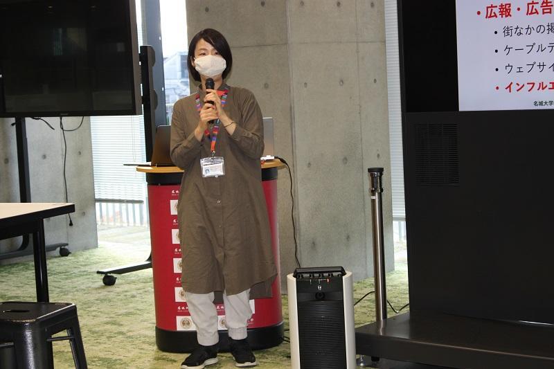 今年度から都市情報学部に赴任された田口先生。これからもよろしくお願いします。