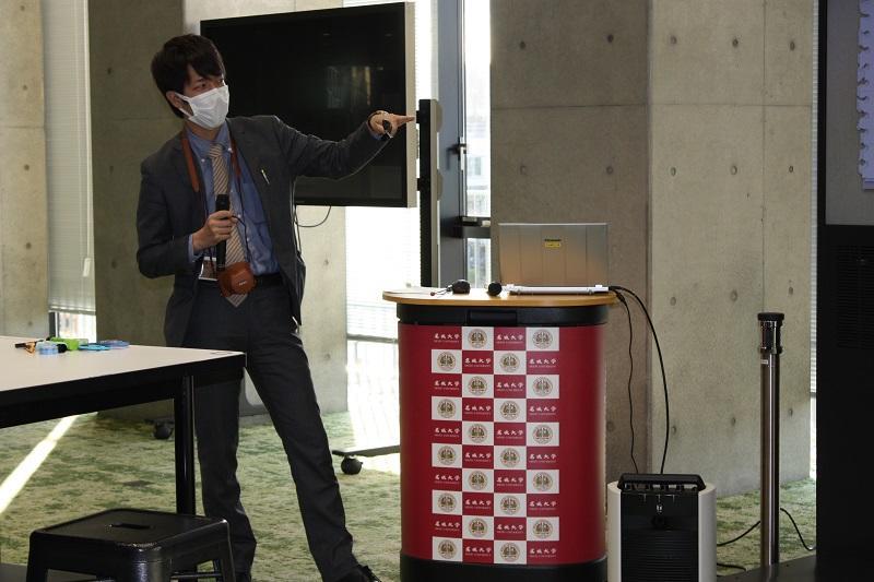 昨年に引き続きCBMLプログラムに協力いただいた髙木さん。楽しんでお仕事されている様子が素敵です。