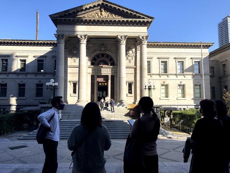大阪府立中之島図書館の建築的な特徴について学ぶ