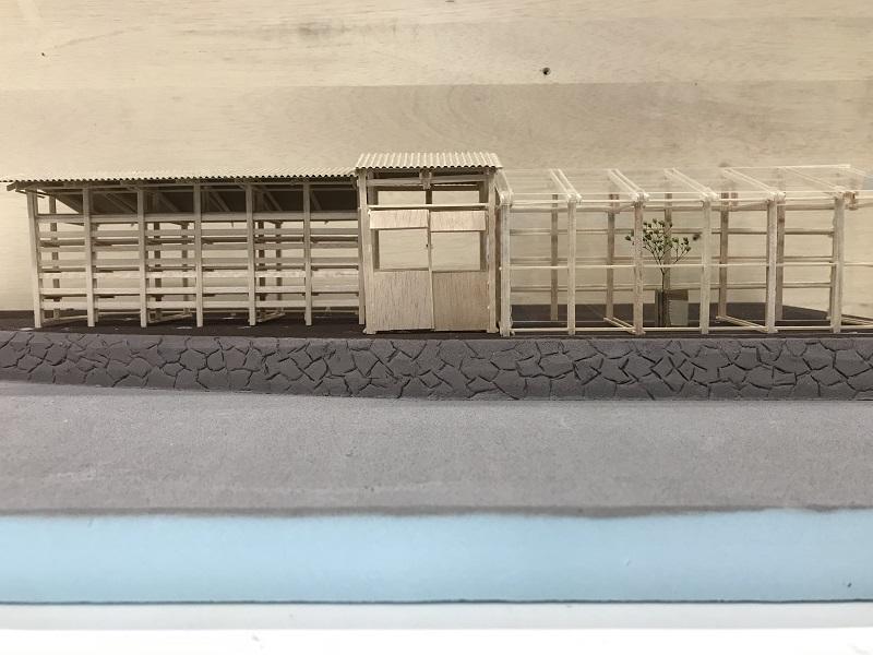 提案模型 道側からの見え