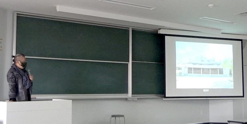 木谷氏による講義風景
