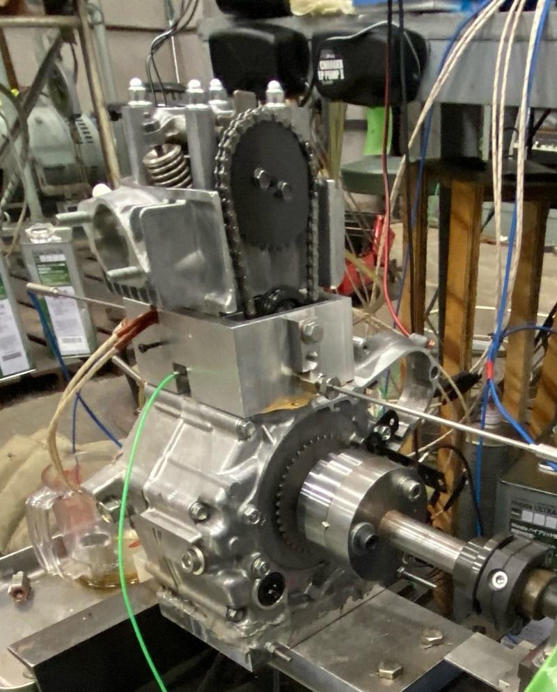 省燃費競技車両用エンジンのピストン系フリクション計測装置