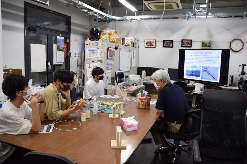 生体材料の研究室の説明