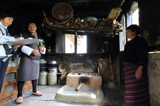 ブータン伝統住居集落調査
