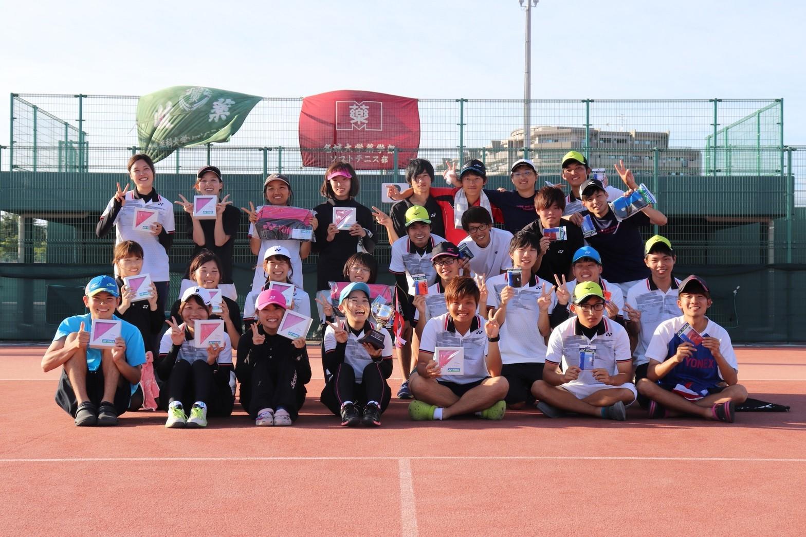 [薬学部学生会/体育局]ソフトテニス部