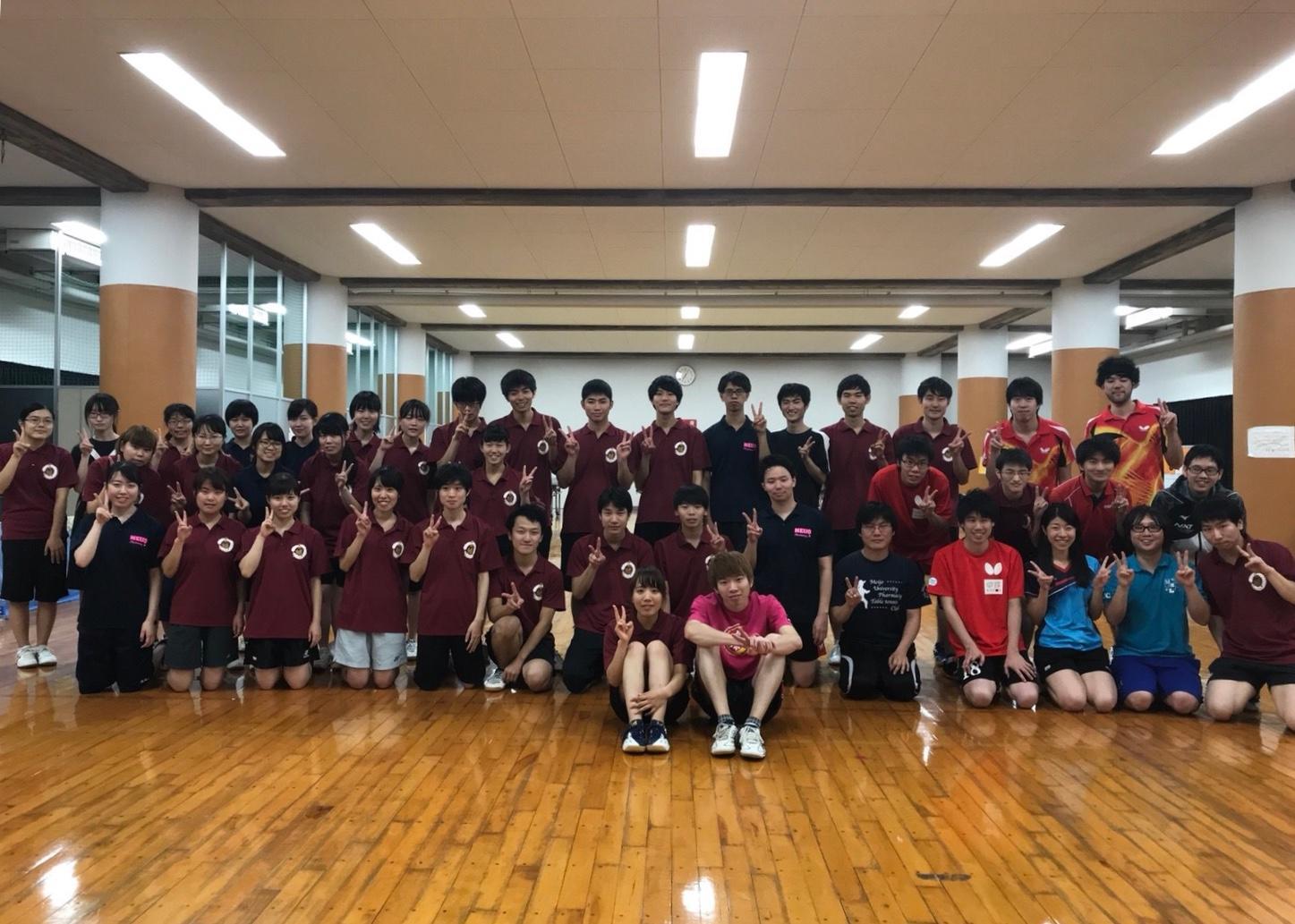 [薬学部学生会/体育局]卓球部