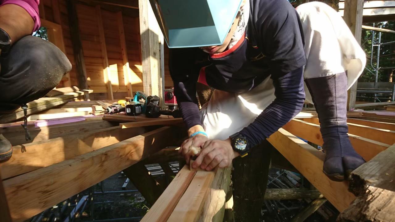 [理工学部学生自治会]木造建築研究会
