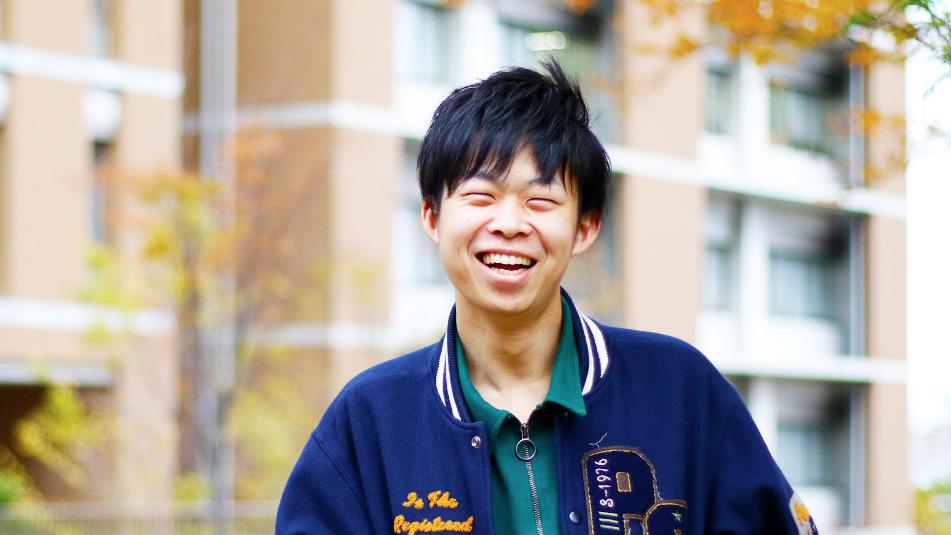 名城大学No.1の台湾マニア!