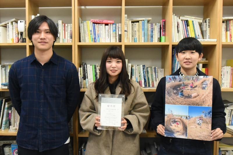 (左から)内田さん、江端さん、伊藤さん