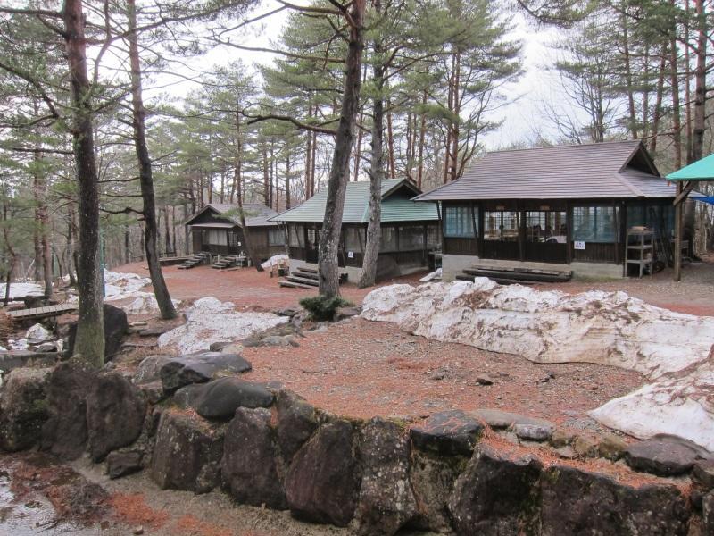 ウォークラリーなども行われた宿泊施設