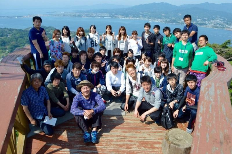 ボランティア協議会の学生と教職員
