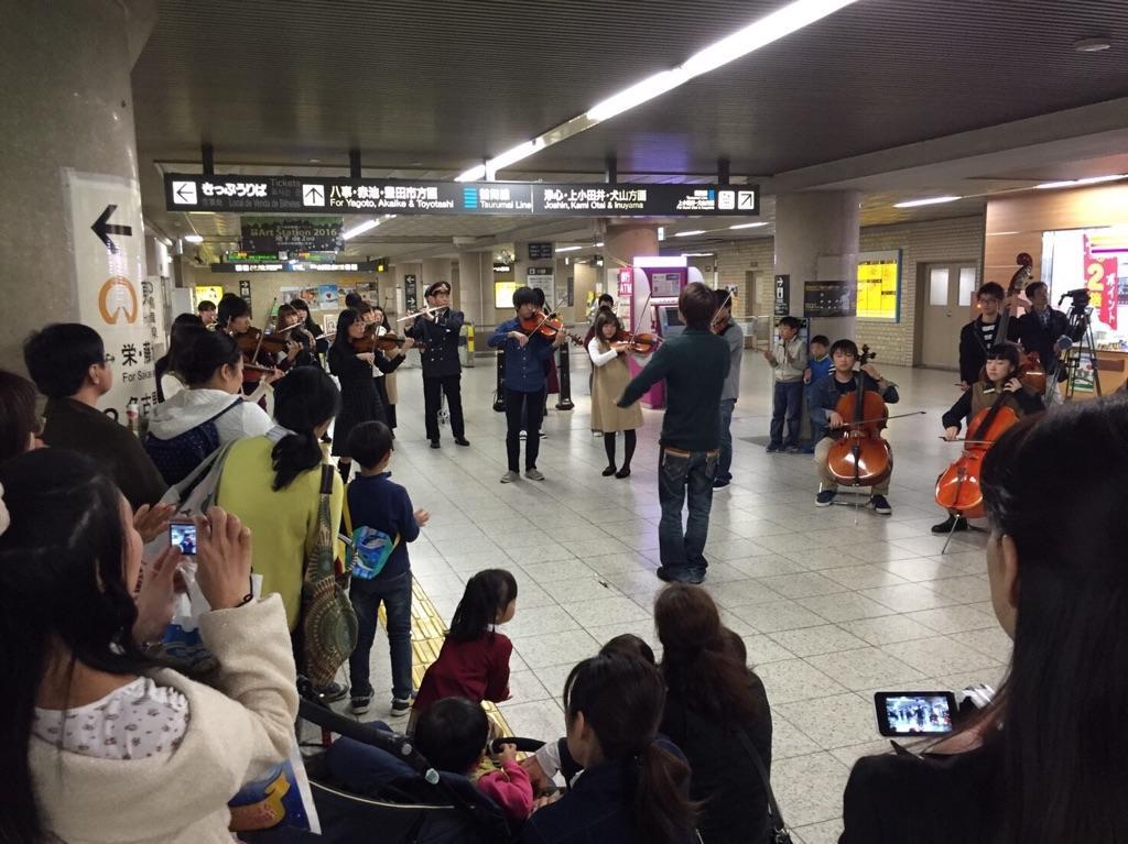 管弦楽団による演奏