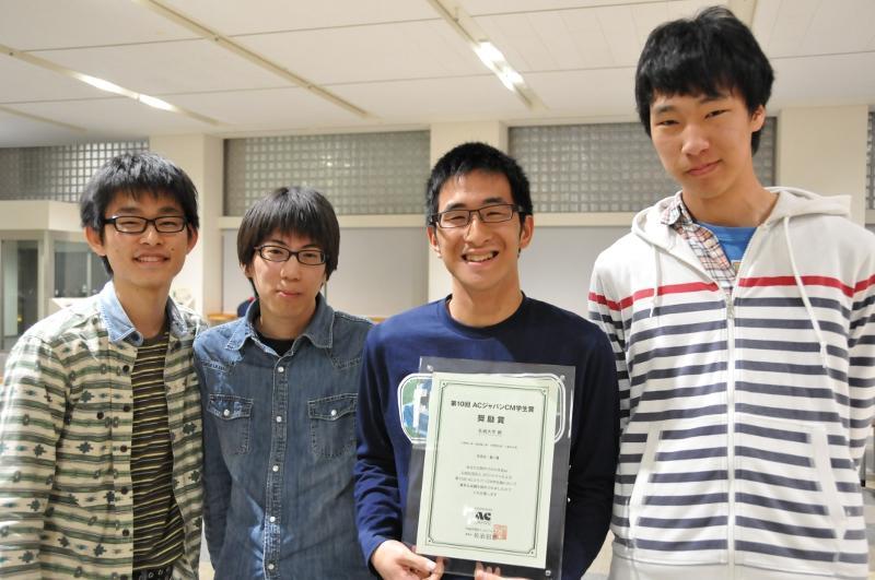 左から中島さん、服部さん、矢野さん、小倉さん