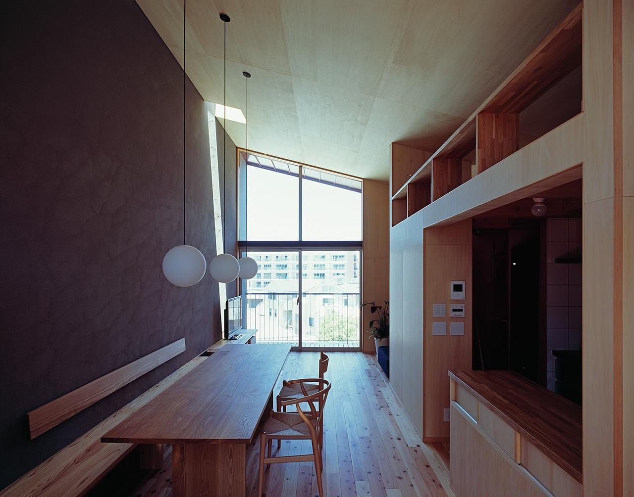 グッドデザイン賞を受賞した住宅の一部