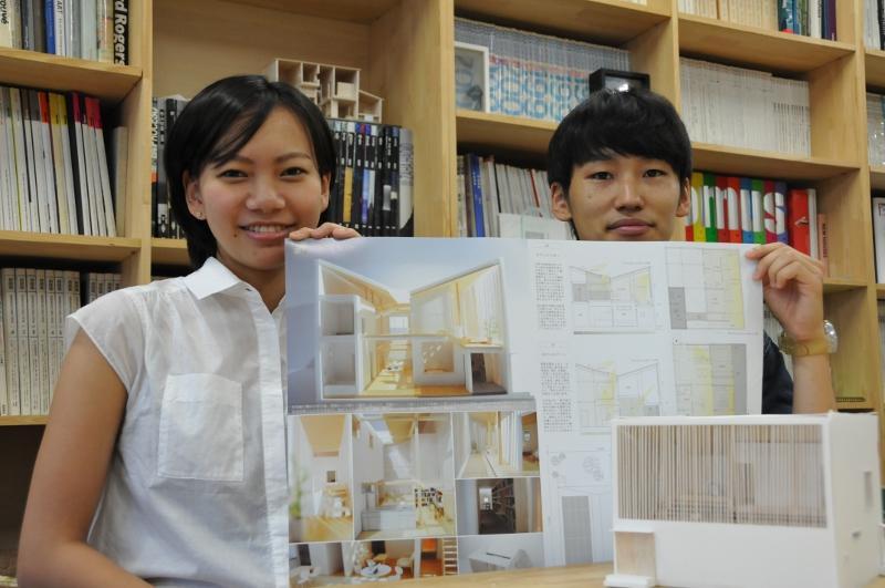 名倉さん(左)と、石井さん