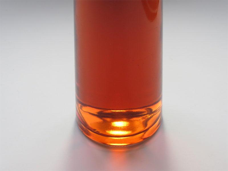 赤カブの色素で色鮮やかな「王滝カブの飲む酢」のサンプル