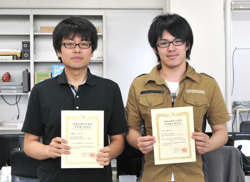 【写真】左から上醉尾さん、小菅さん