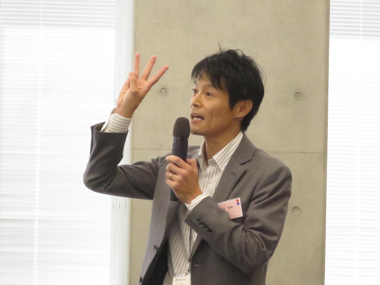 柳沢秀郎准教授の報告