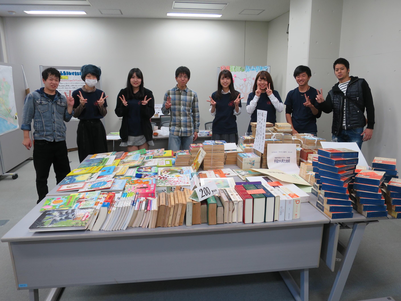 陸前高田震災復興図書館再建プロジェクトのメンバーら