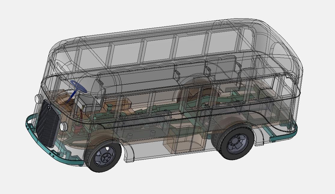 3D透視図