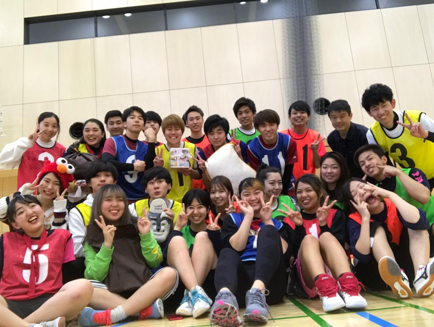 スポーツで一体感を味わった外国語学部生たち