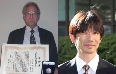 (左から)大槻教授、大島教授