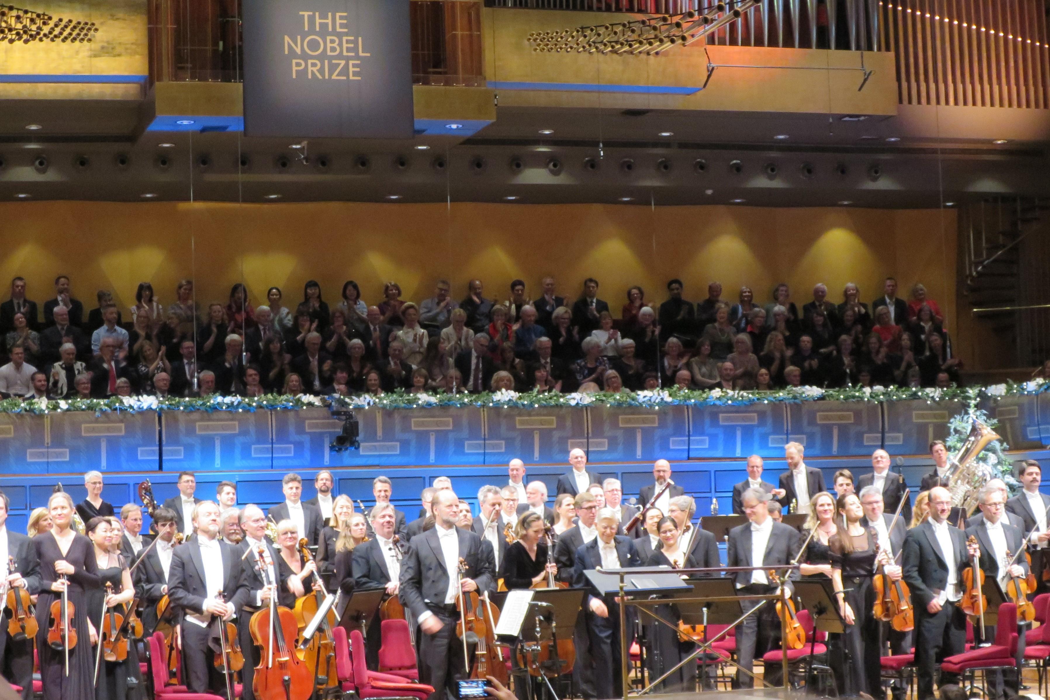 授賞式会場と同じコンサートホールで開かれたノーベル賞コンサート