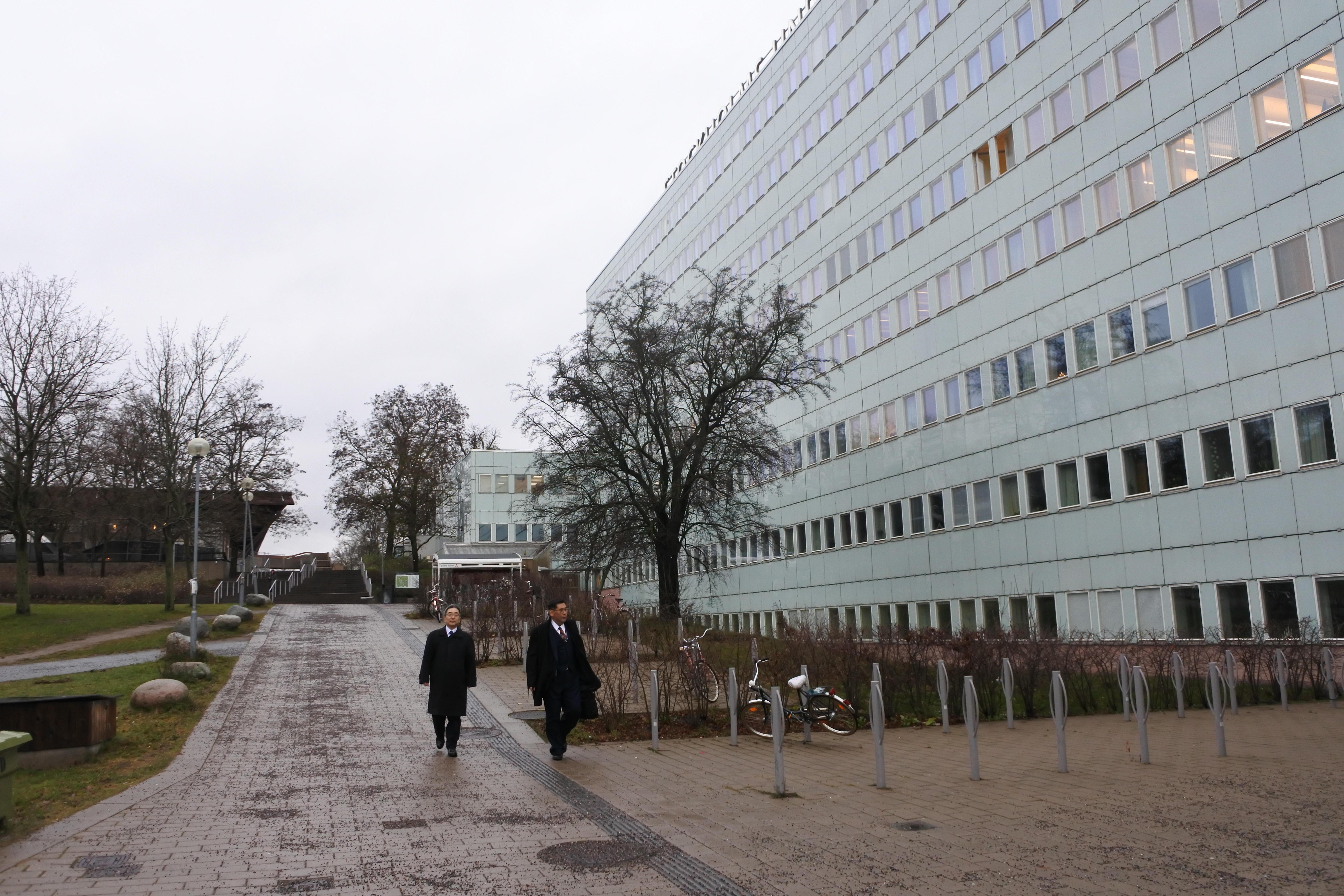 ストックホルム大学のキャンパス