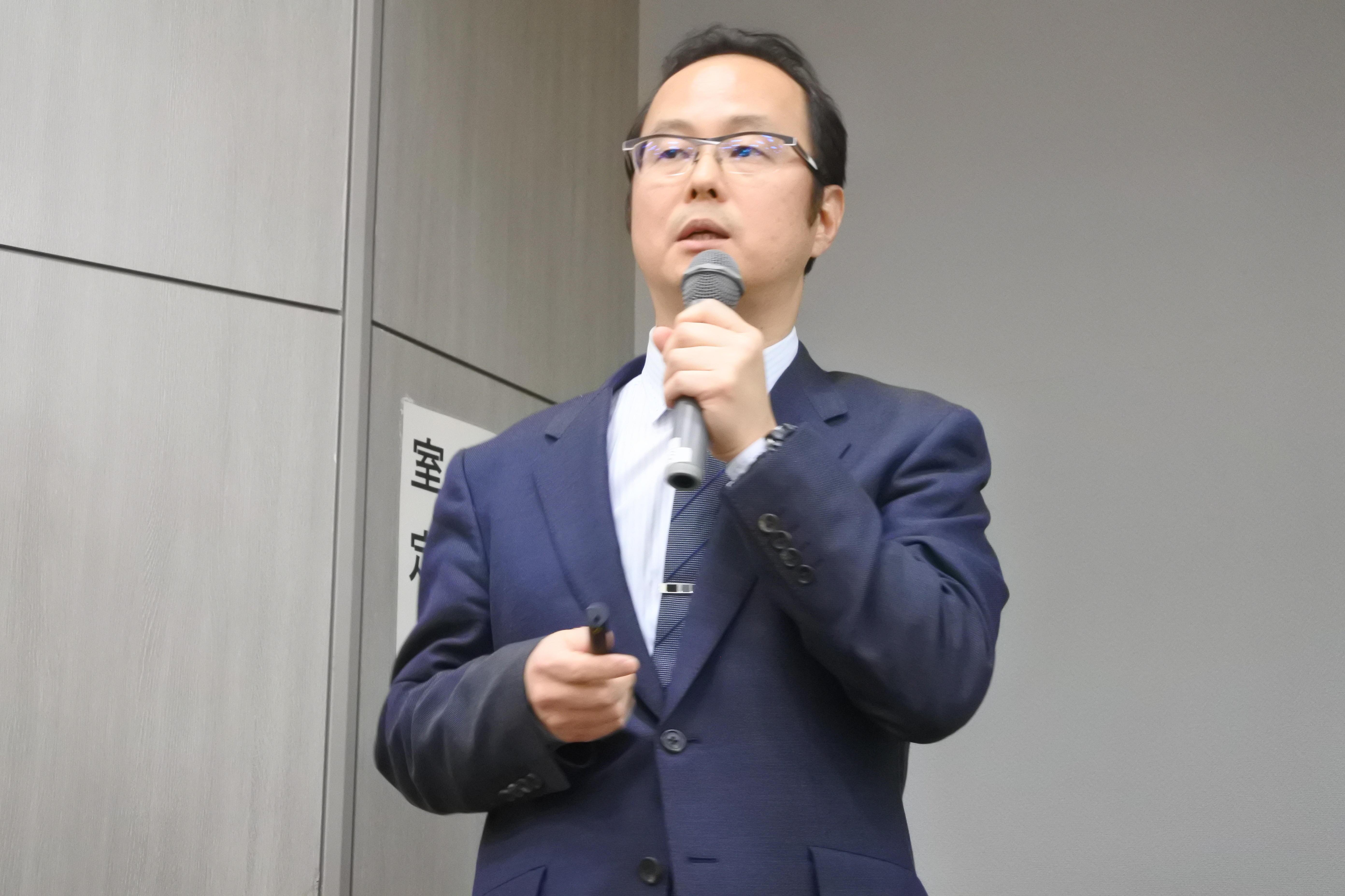 佐々木宏之准教授