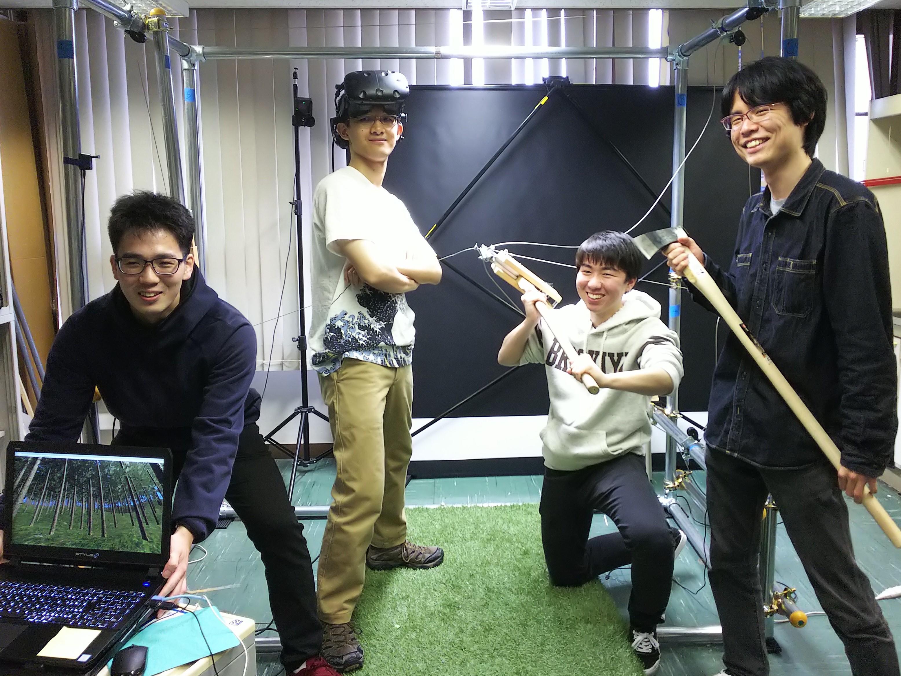 (左から)嶋津さん、山村さん、山本さん、加世田さん