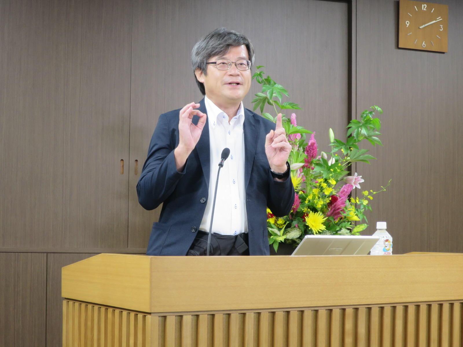 天野浩本学特別栄誉教授・名古屋大学教授