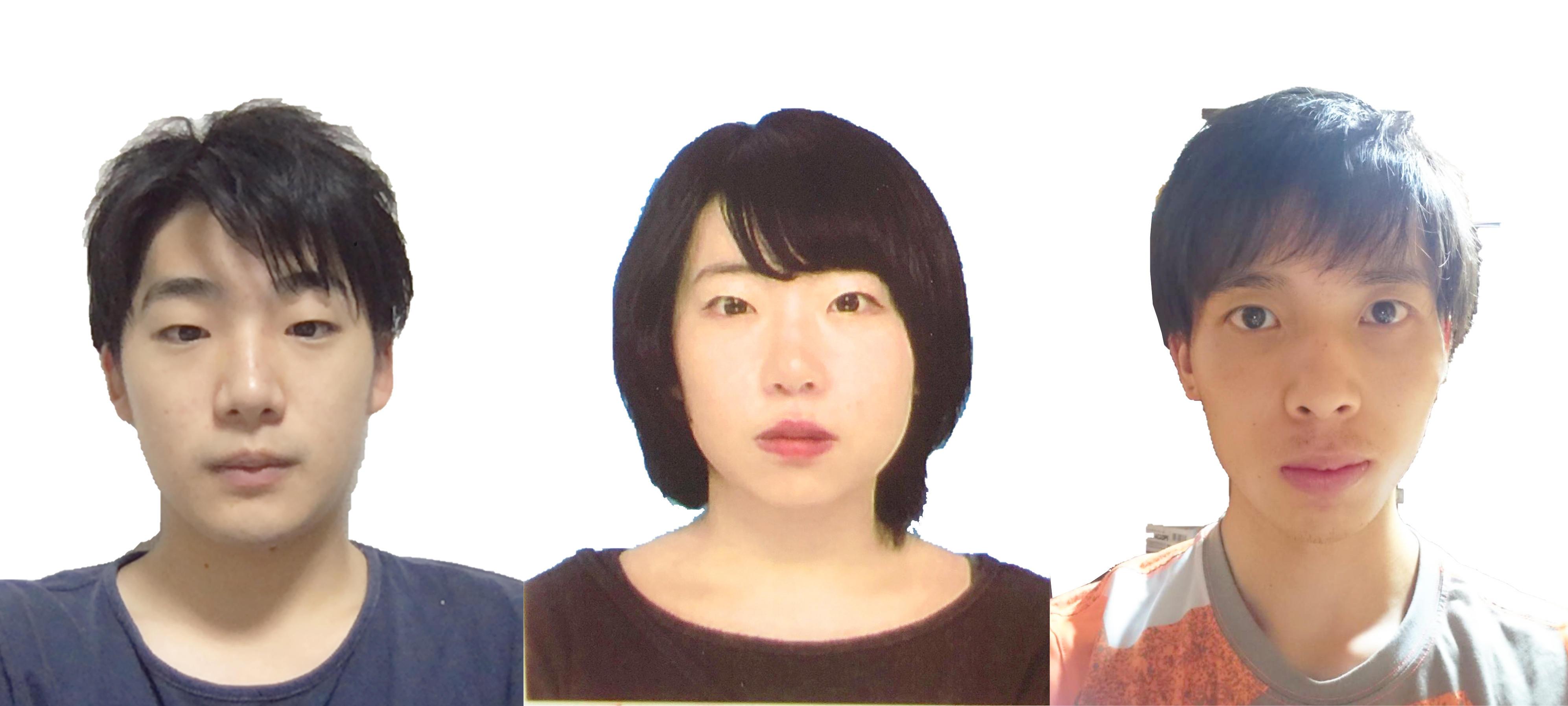 (左から)加藤さん、長谷川さん、川久保さん