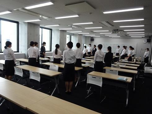 講座終了後、学生代表から感動の挨拶が!